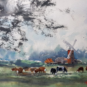Norfolk countryside scene